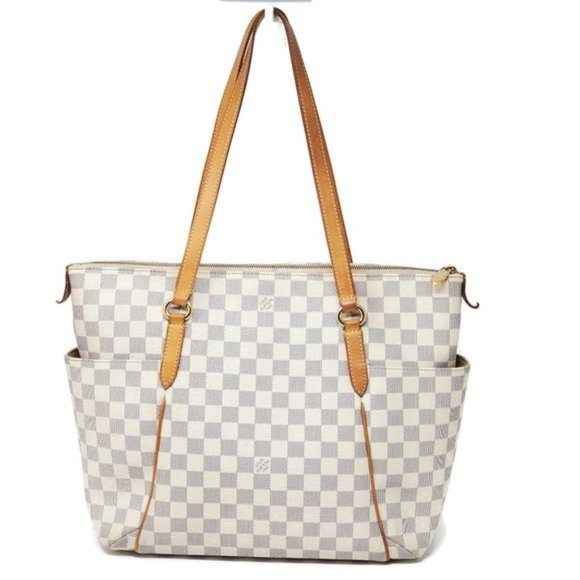 Louis Vuitton Handbags - Auth Louis Vuitton Totally MM Damier Azur Tote Bag